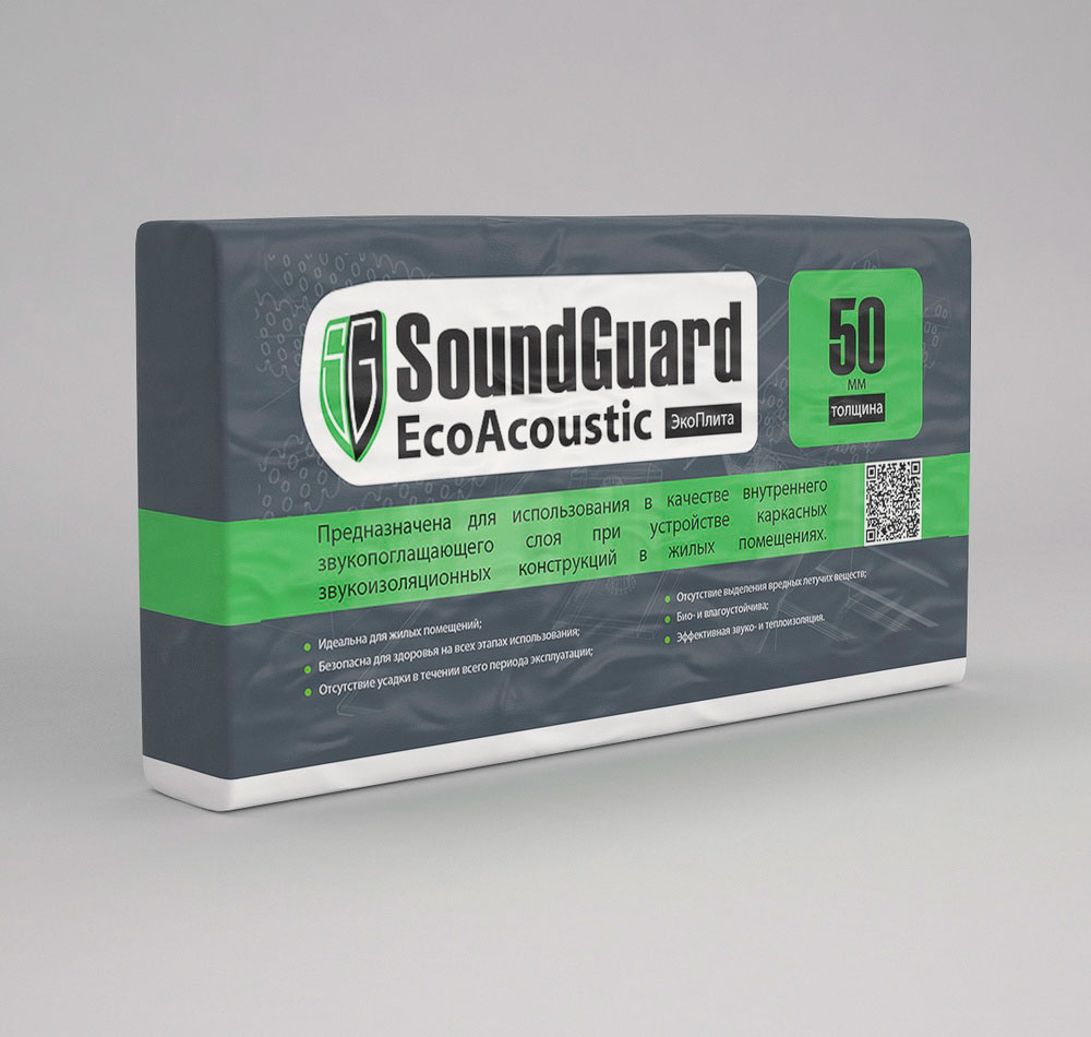 ЭкоПлита SoundGuard EcoAcoustic 80